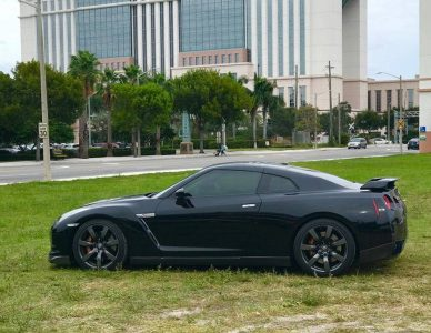 2011 Nissan GTR 625hp BLACK